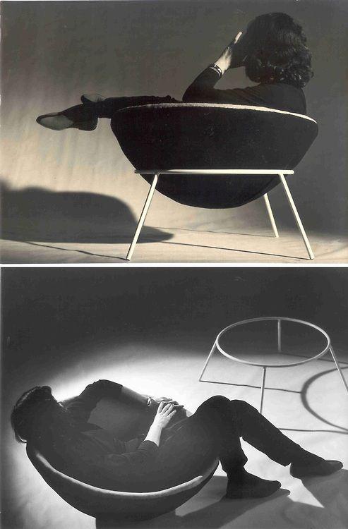 Resultado de imagen de Bardi's Bowl, 1951: Chair