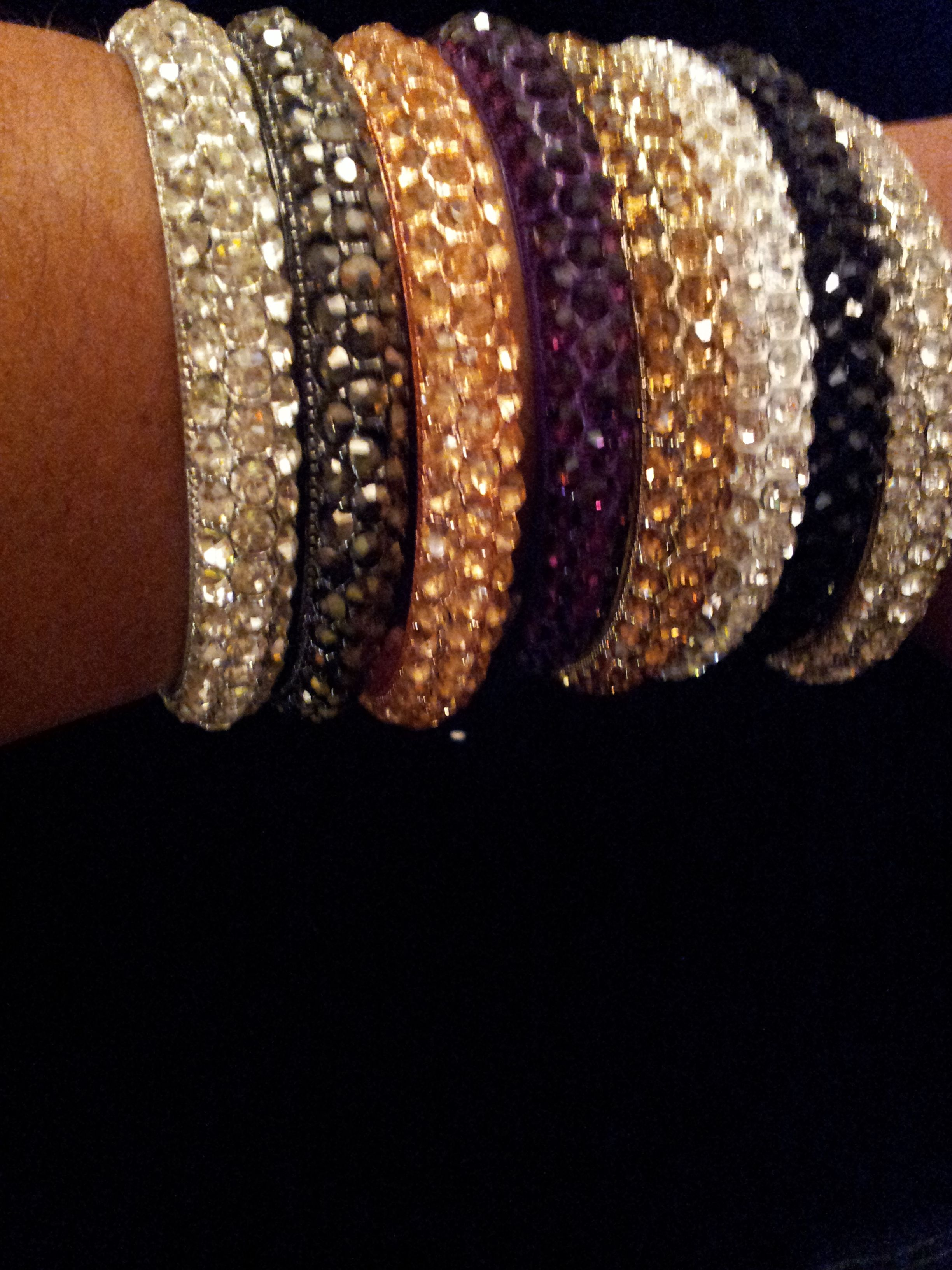 Bling bangles in all colors at juicypieces accessories we