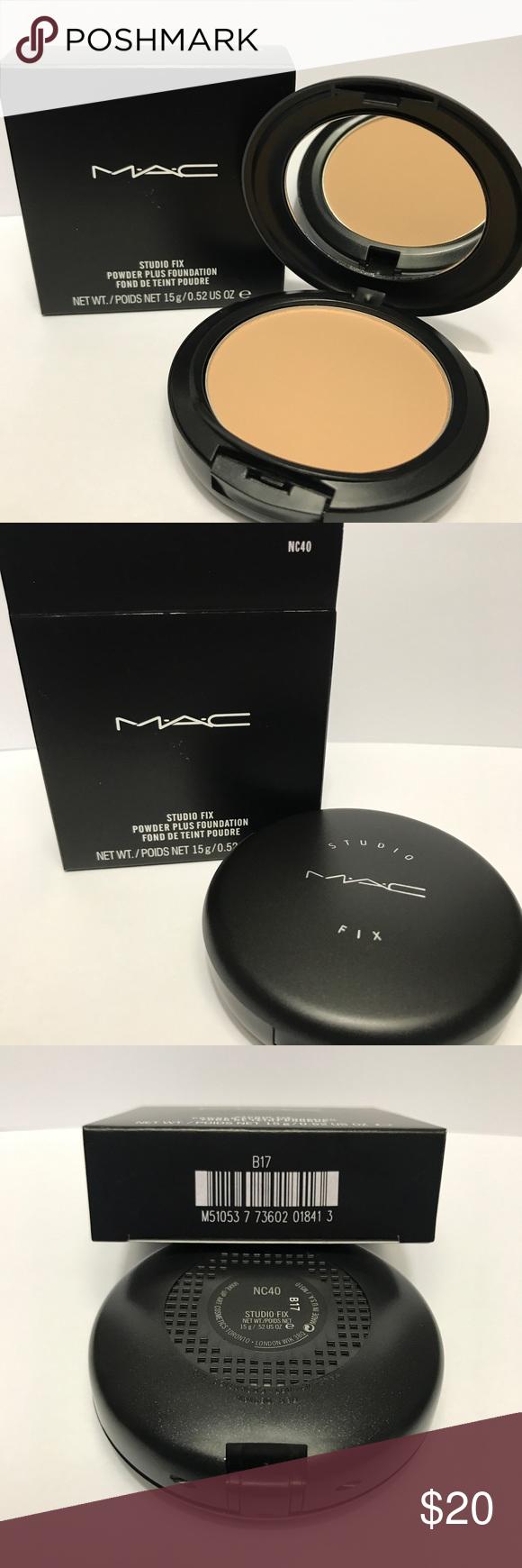 Nc40 Studio Fix Powder Plus Foundation Brand New In The Box 100 Authentic