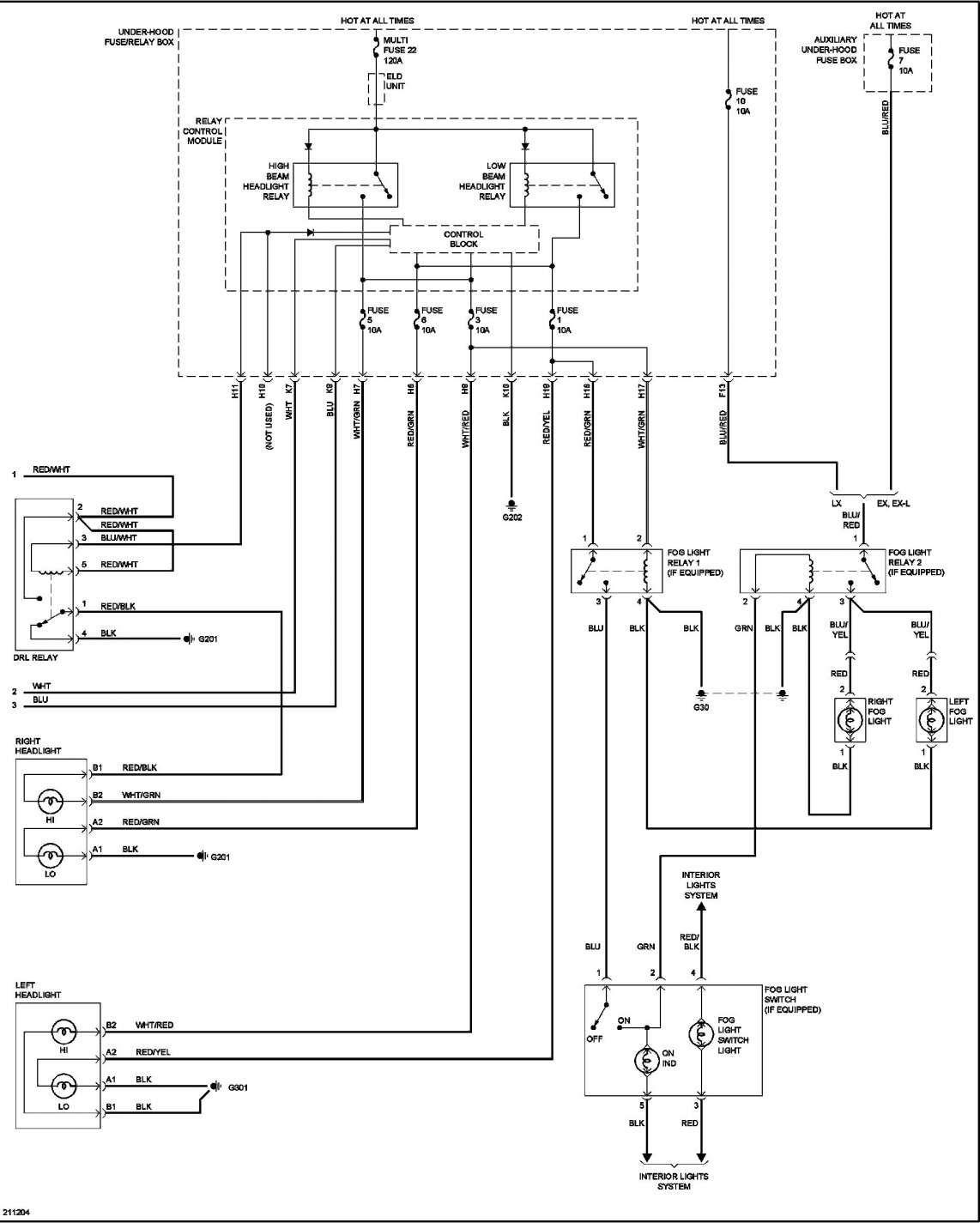 15  99 Civic Ex Engine Wiring Diagram