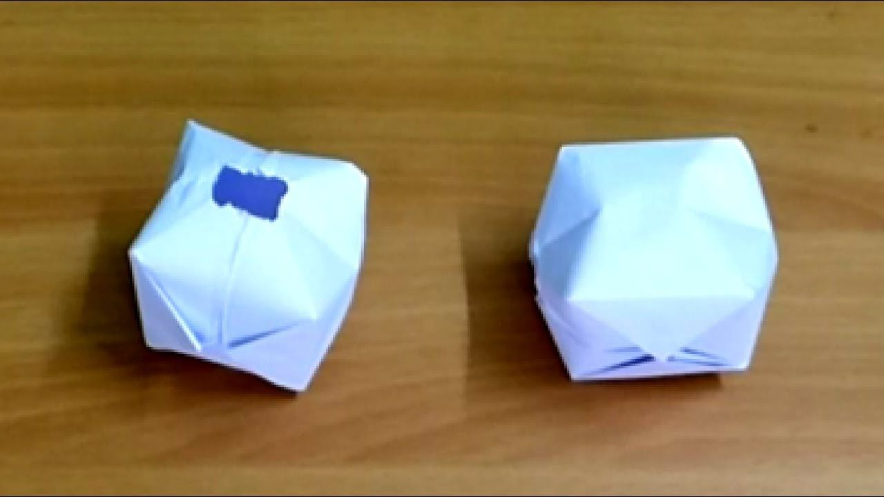 How To Make An Inkpot Or How To Make Paper Ball Easy Steps Paper Balls How To Make Paper Paper