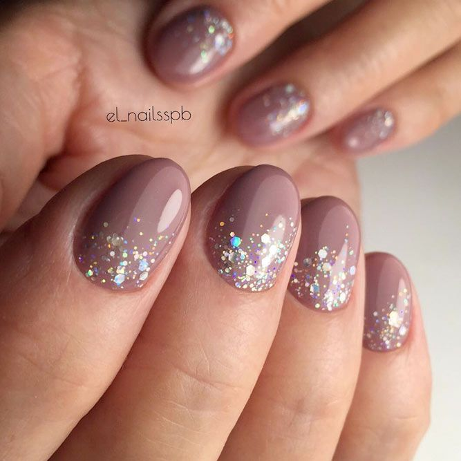 Designs for Round Nails Worth Stealing ☆ See more:  https://naildesignsjournal.com/round-nails-designs/ #nails - Rock The Round Nails: Comfortable Shape & Coolest Designs