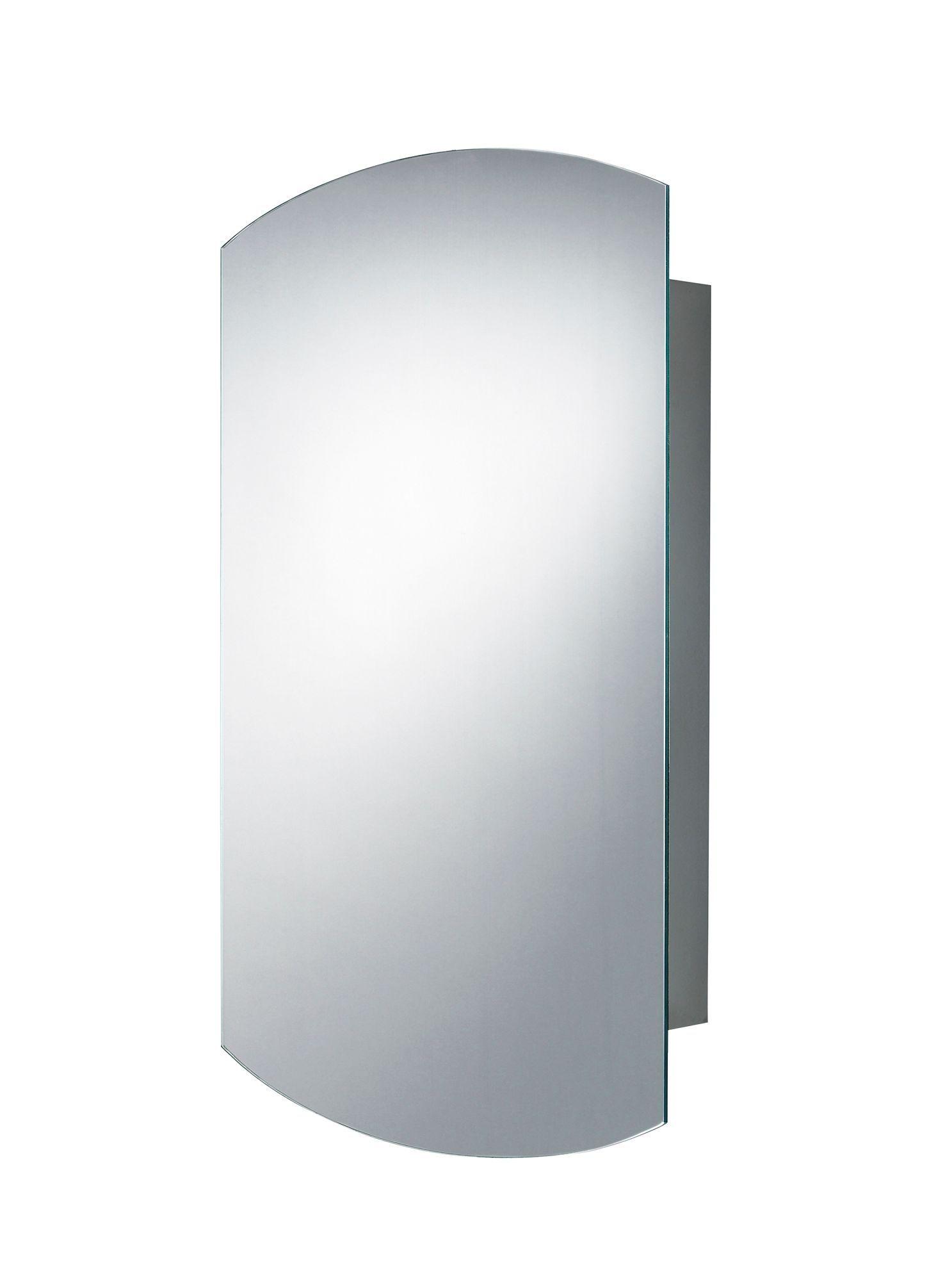B&Q Fonteno Single Door Silver Mirror Cabinet | Pinterest | Mirror ...
