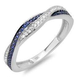 Ring Symbolic Of Your Commitment This Cool 10 Karat White Gold Wedding