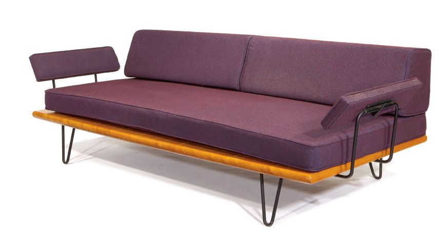 George Nelson Rare Daybed With Arms Mobilya Koltuklar Tasarim