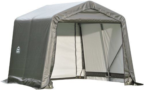 Shelterlogic 71021 Grey 10 X24 X8 Peak Style Shelter By