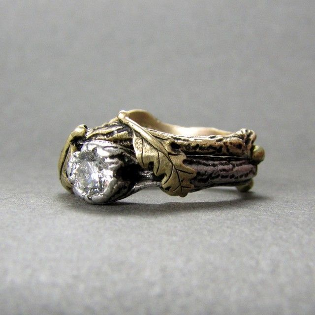 Nature Themed Wedding Rings Fashion Interesting Facts