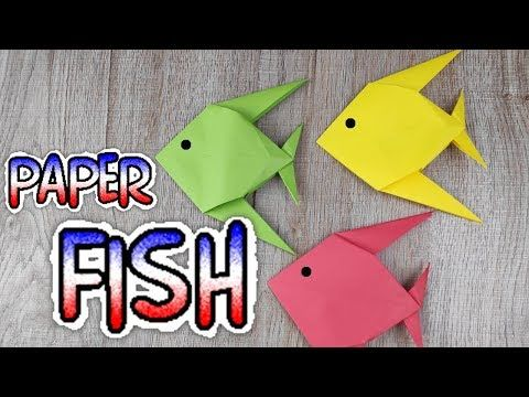 Photo of DIY Origami Animal Paper Toy   How To Make an Easy Origami Fish Tutorial   Handmade – Craft Kids