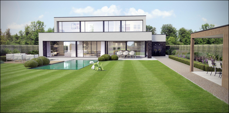 Garden 3d modern tuin tuin d d pinterest tuin gevels en nieuwbouw - Moderne tuin ingang ...