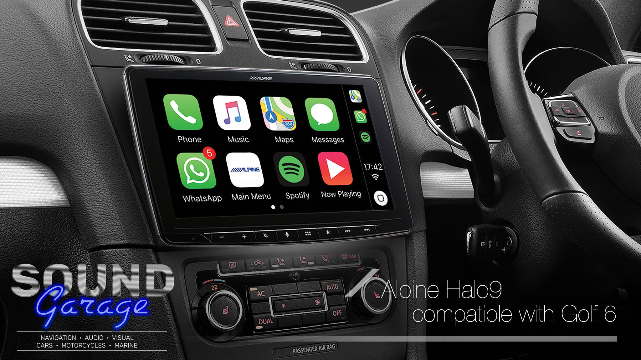 Alpine Halo9 Ilx F309e 9 Carplay Android Auto Digital Media Head