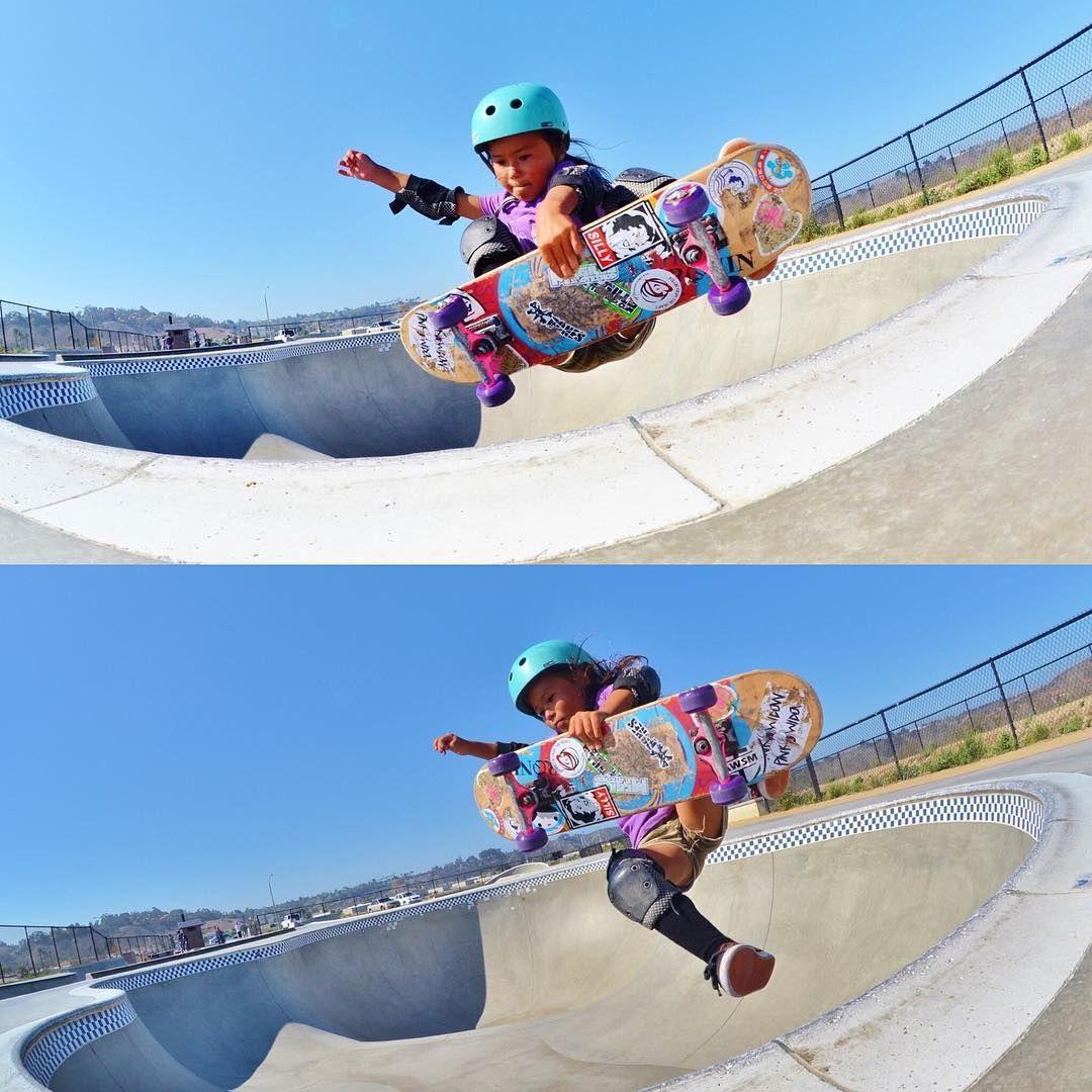Instagram of the Day Skateboarding Kids Sky and Ocean in