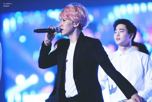 Baekhyun - 150815 I Am Korea Celebratory Performance Credit: Authentic Love. (나는 대한민국이다 축하공연)