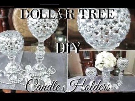 DIY DOLLAR TREE BLING CANDLE HOLDERS 2017   PETALISBLESS DIY DOLLAR TREE BLING C    bling  candle  diy  dollar  holders  petalisbless  tree #paper #plate #crafts #for #kids #easy #paper #plate #crafts #for #kids #spring #paper #plate #crafts #for #toddlers #glam decor diy dollar stores