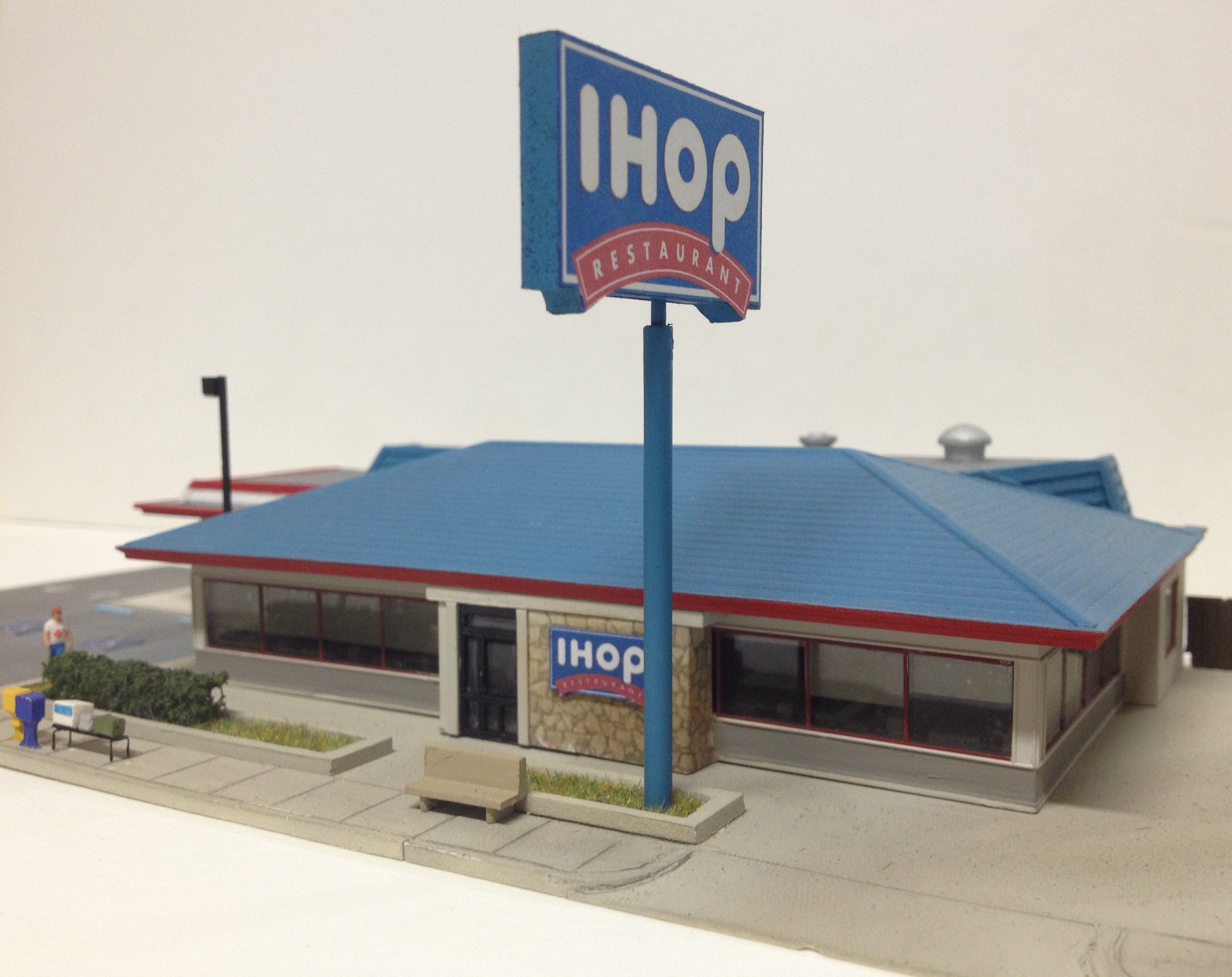 Based On A Ihop Restaurant In Barstow Ca Built With Making A