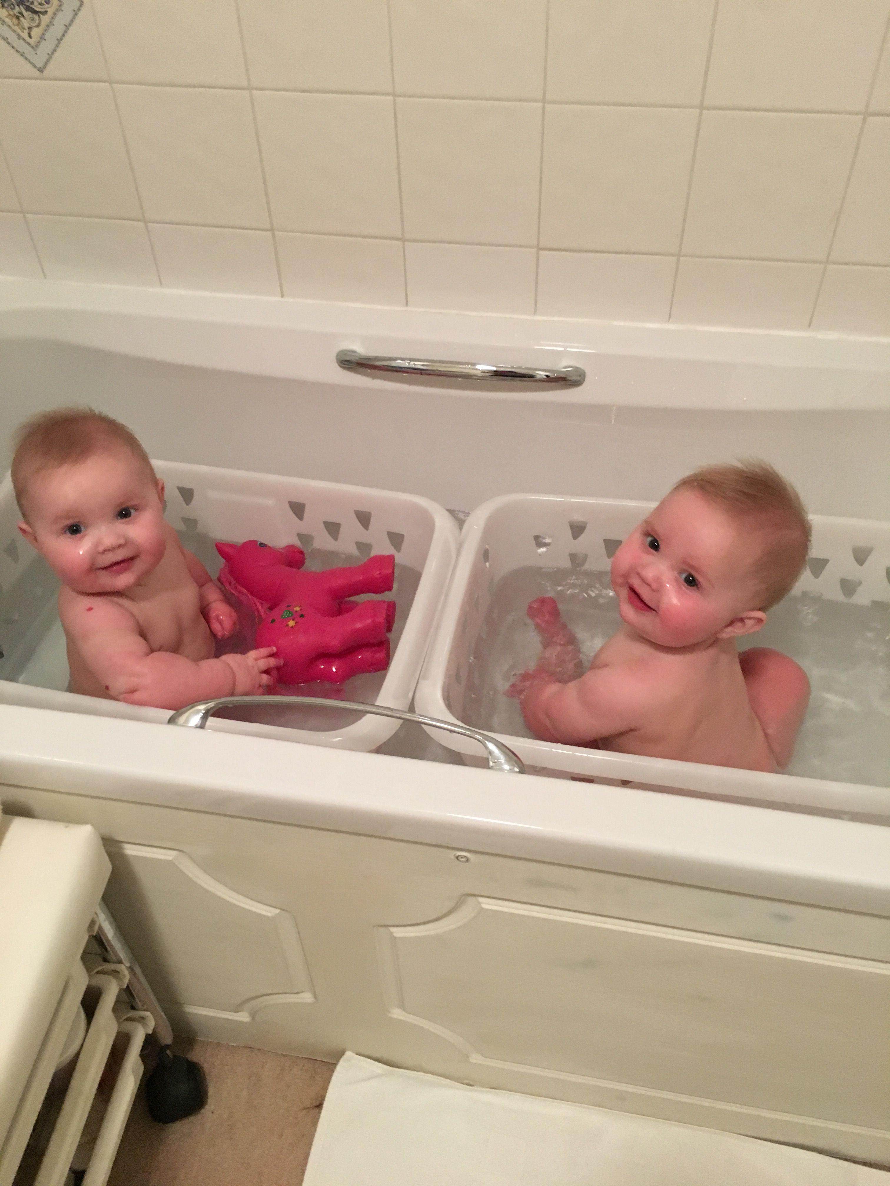 Makeshift baby bath seats   Babies   Pinterest   Baby bath seat ...