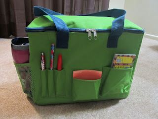 Really Good Stuff's Files-and-All Teacher Caddy Review and Giveaway... enter by Fri., March 16... http://subhubonline.blogspot.com