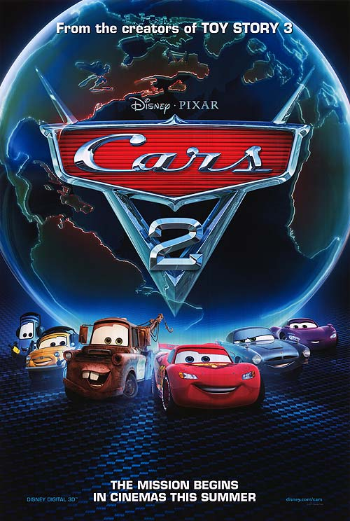 Cars 2 Disney Posters Animated Movie Posters Disney Movie Posters