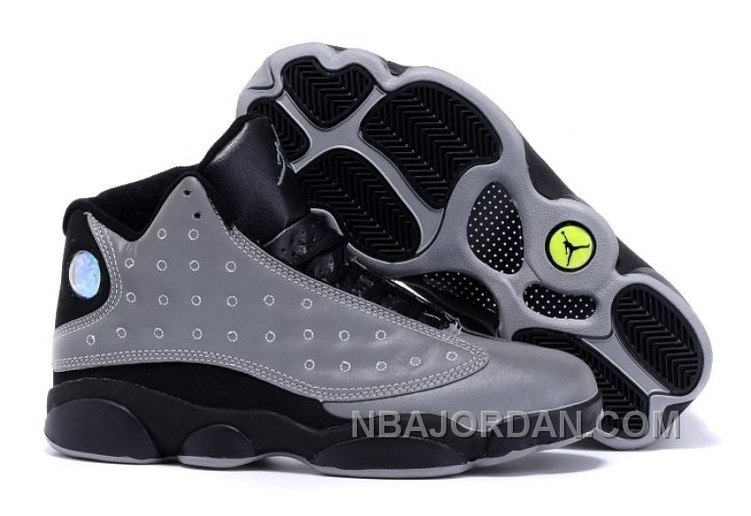"innovative design b5e18 218cb ... AIR JORDAN 13 ""DOERNBECHER"" DB GREY BLACK GLOW-IN-THE-DARK ON SALE TOP  DEALS Only  92.00 , Free Shipping!"