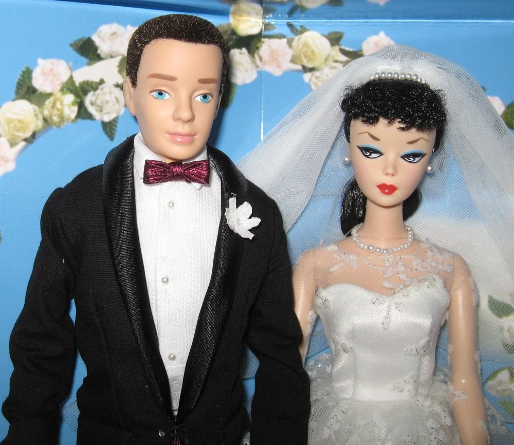 Wedding Day Gift Set (Barbie and Ken) Wedding day gifts