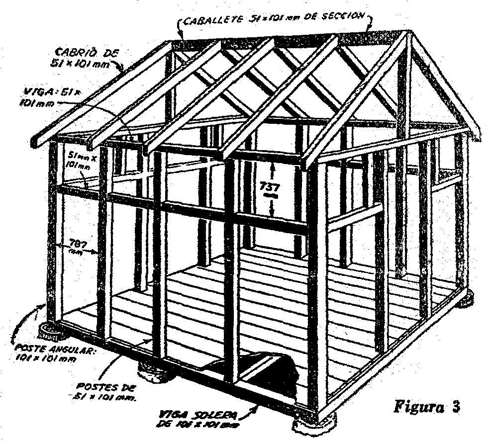 - Como se hace una casa de madera ...