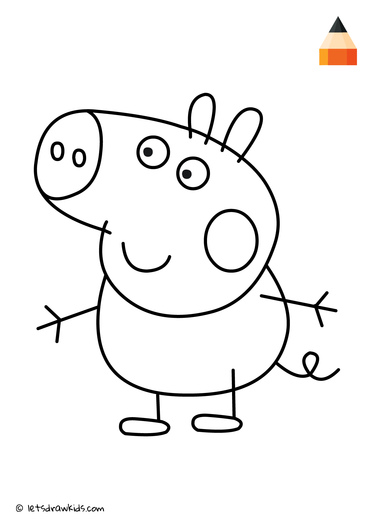Coloring Page George Pig Barbie Drawing Peppa Pig Painting Dolphin Coloring Pages