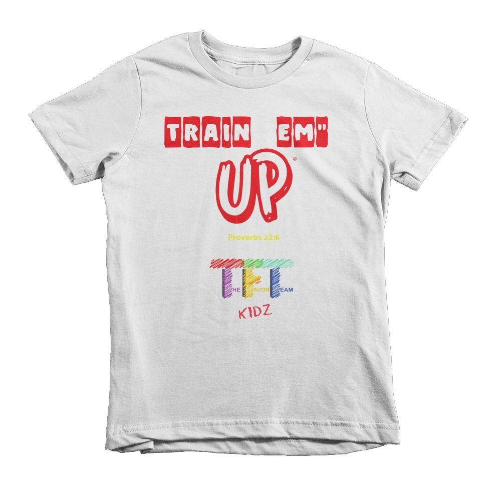 The Favor Team Kidz Red Train em' Up Statement Shirt