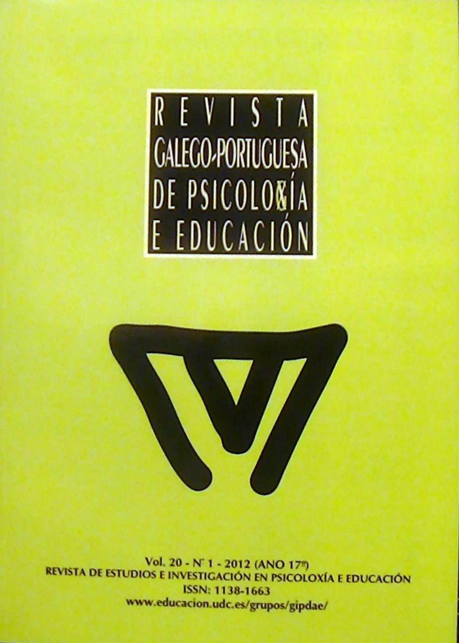 REVISTA GALEGO-PORTUGUESA DE PSICOLOXÍA E EDUCACIÓN   N. 1 (Vol. 20), 2012