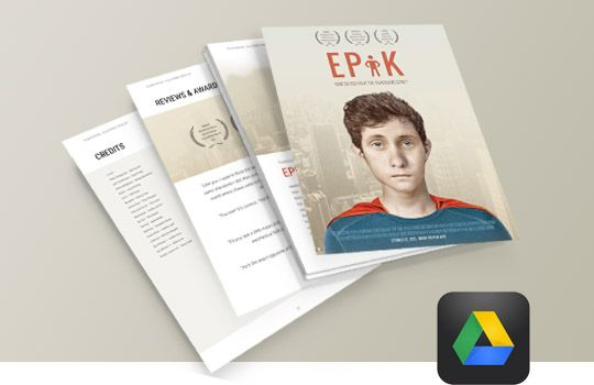 digital press kit template free - epk tutorial and a new electronic press kit template