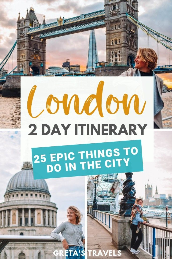 Not sure how to spend 2 days in London? This London 2-day itinerary is just what you've been looking for. Discover all the best things to do in London in 2 days. #london #england #uk #unitedkingdom #europe