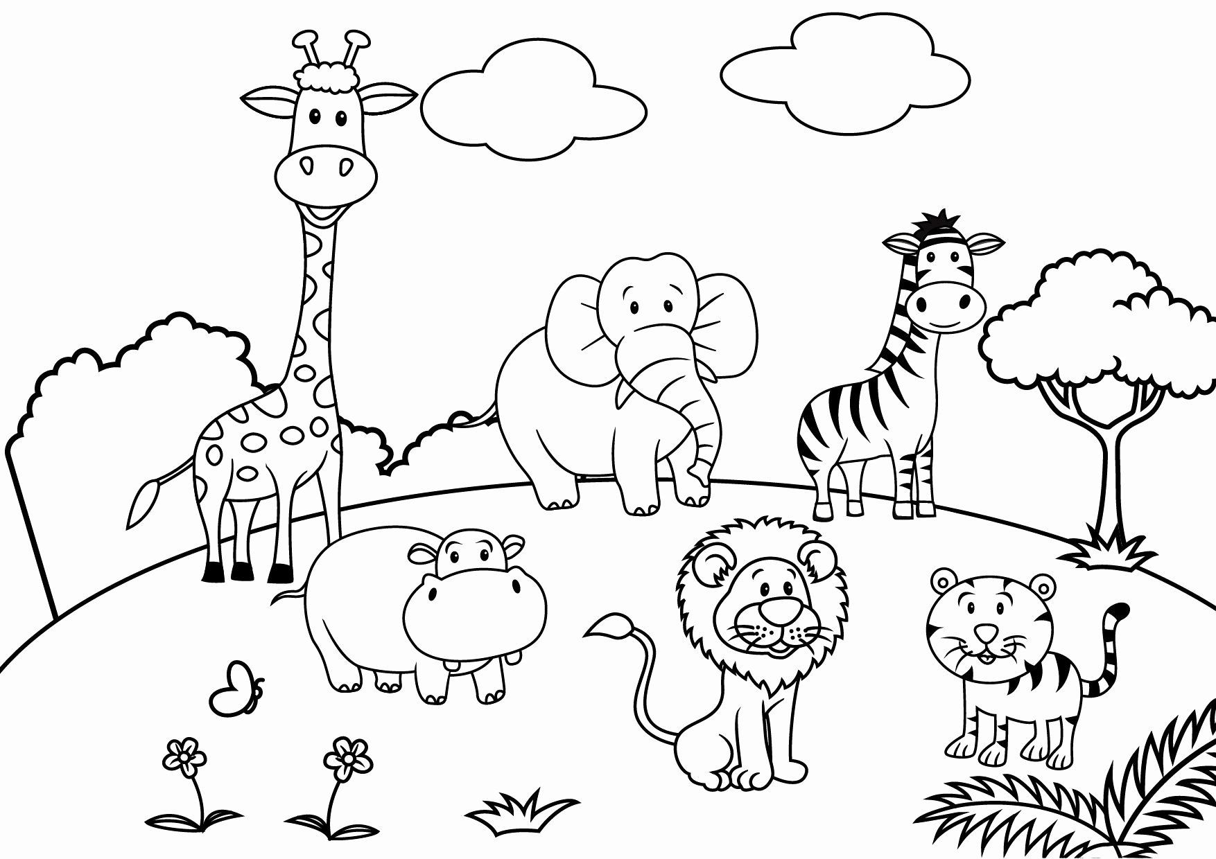 Cartoons Coloring Pages To Print In