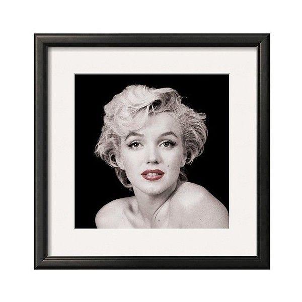 Art.com - Marilyn Monroe Framed Print (£56) ❤ liked on Polyvore ...