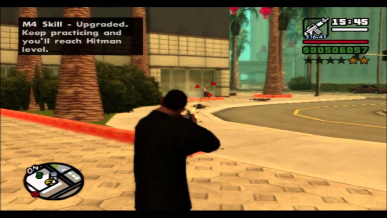 شفرات سان اندرس Gta San Andreas Ps3 بلاي ستيشن 3 عربي كاملة Skills Upgrade Practice