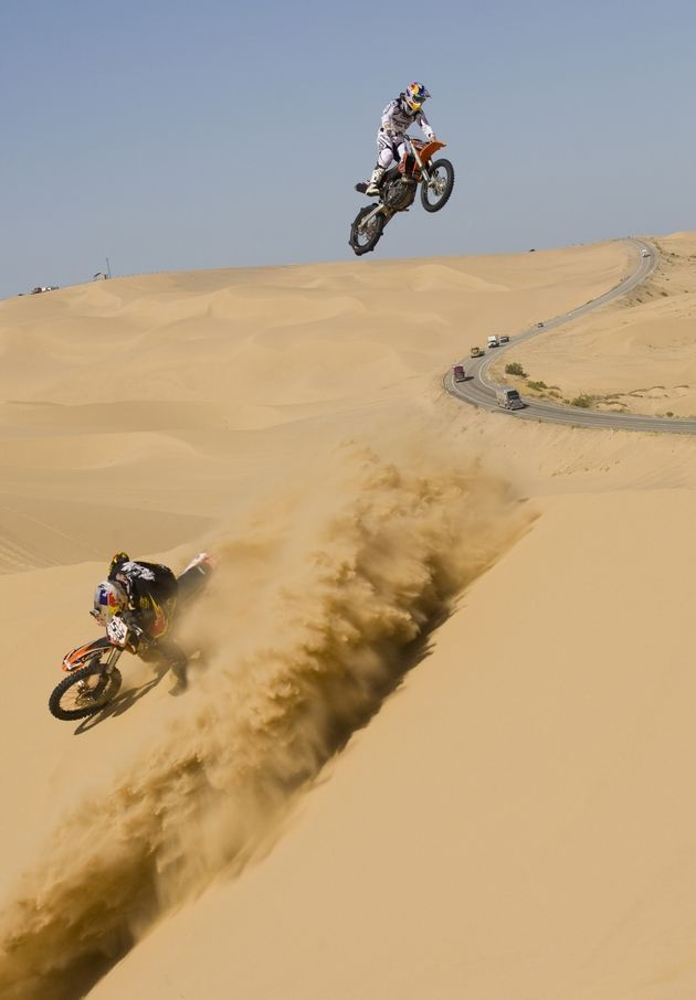 Fmx Team Freeriding Glamis Sand Dunes Imperial Valley