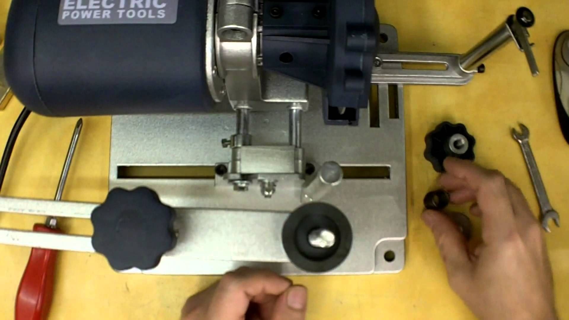 Harbor Freight Circular Saw Blade Sharpener Review and Modifications