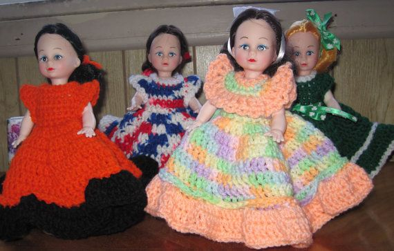 Holiday Crochet Air Freshener Doll Cover by ScarfLadybyJoAnn #airfreshnerdolls
