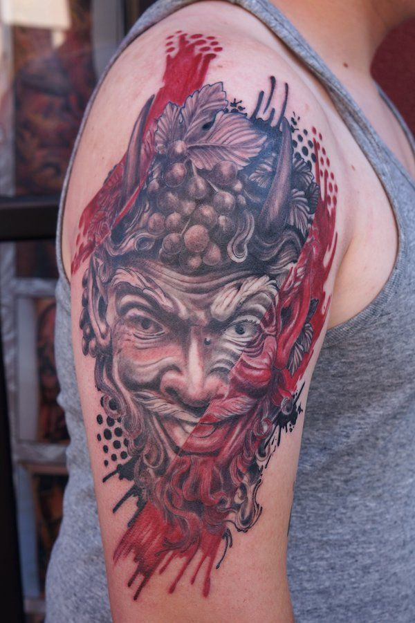 Bacchus aka Dionysus by graynd   Tattoos II   Pinterest ...