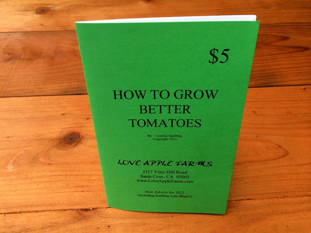 Tomato Handbook via Love Apple Farms Online Store. Click