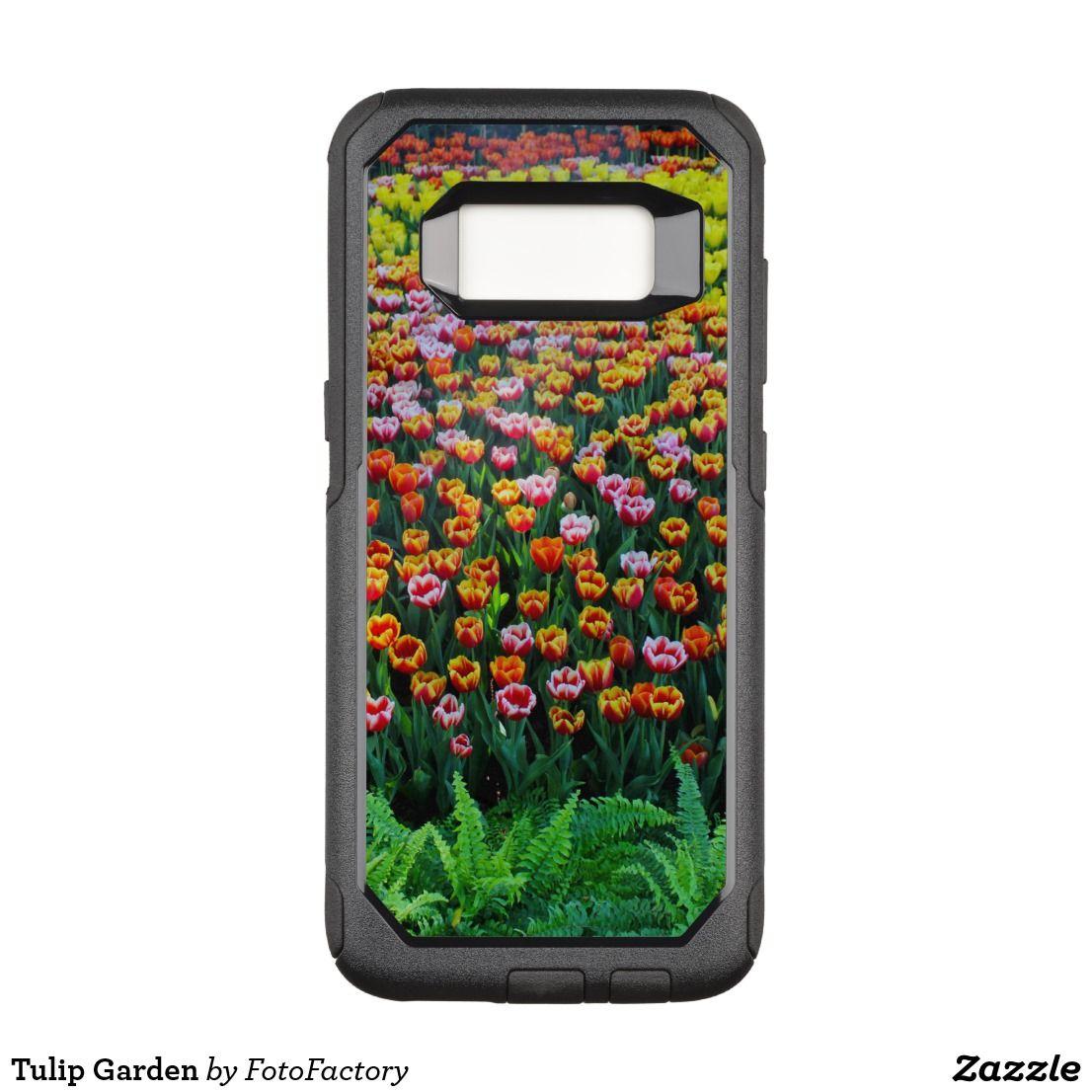Tulip Garden Otterbox Samsung Galaxy Case Zazzle Com Tulips
