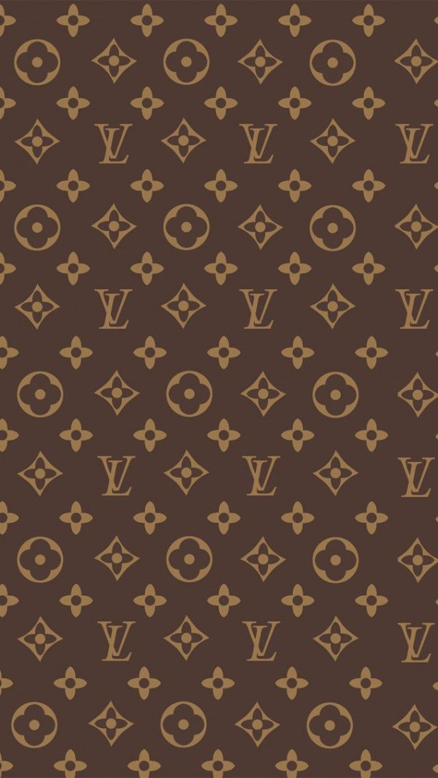 Louis Vuitton Print iPhone 5s Wallpaper.