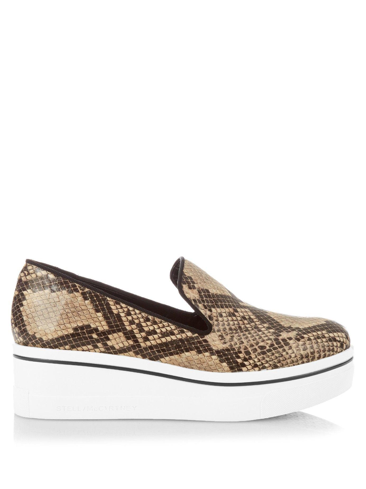 41fe66ffb7472 Binx faux-python flatform loafers | Stella McCartney | MATCHESFASHION.COM UK