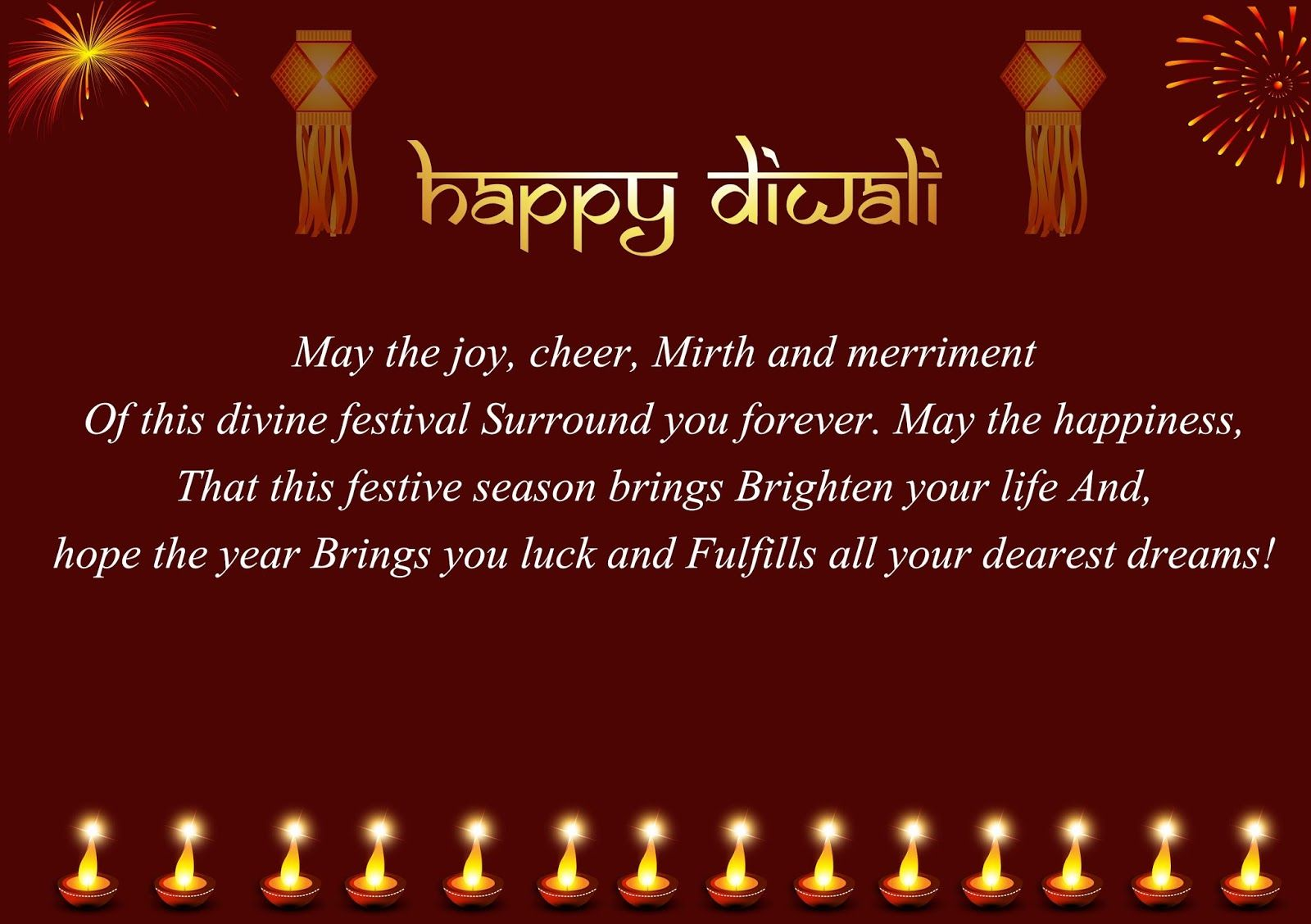Happy Diwali Image Wishes Happy Diwali Pictures Wishes