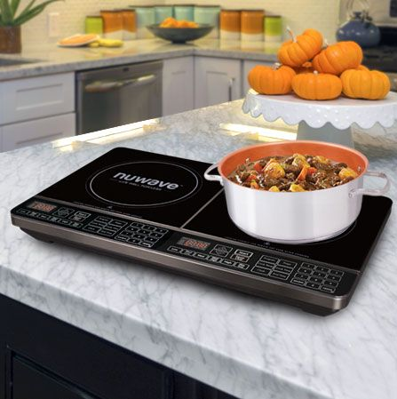 The NuWave Precision Induction Cooktop Double (PIC Double) Offers Precise Temperature  Control With The