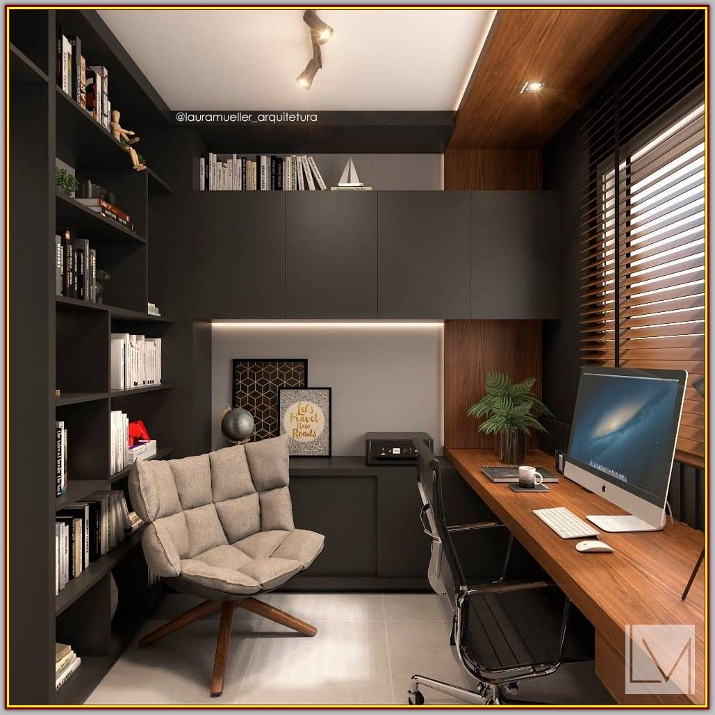 Furnish Your Home Office Decor With These Tips And Tricks Modern Interior Design Modern Office Interiors Office Interior Design Modern Home Office Setup