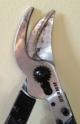 Bypass lopper blades
