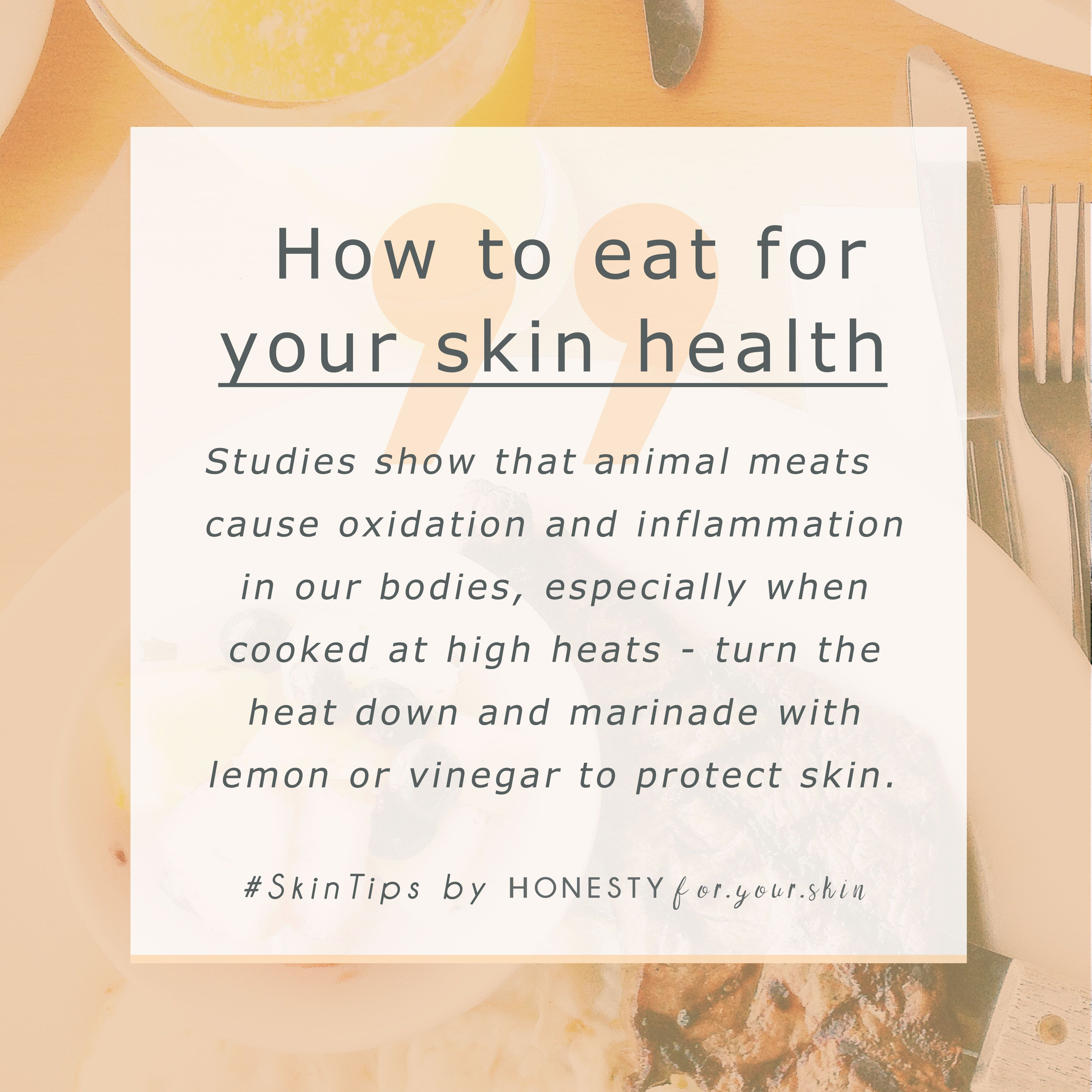 Have you heard about the benefits of eating raw foods? Did you know a diet rich in raw food and low in these other kinds of food will help stop wrinkles, ages spots and skin sagging better than skincare ever could? Read on here -> http://wp.me/p6LuQS-163
