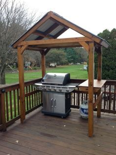 Delicieux Grill Gazebo