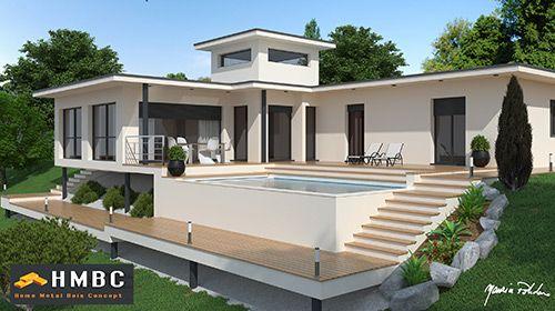 constructeur-maison-contemporaine-07jpg (500×280) archi Pinterest - construire sa maison en guadeloupe