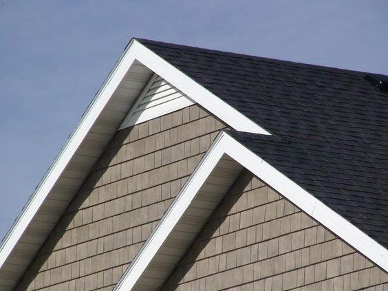 Custom Aluminum Gable Attic Vent Triangle Any Pitch Pitch Coastal Interiors Coastal Architecture Attic Vents