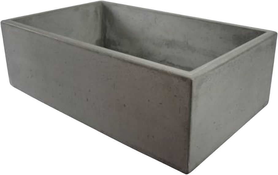 Alfi Model Abc3219 Co Concrete Color 32 In Single Bowl Concrete Farm Sink Concrete Farm Sinks Farm Sink Concrete Sink