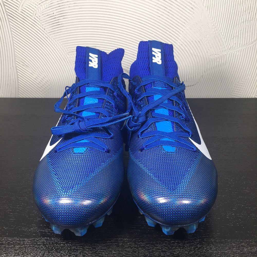 5cecc2a07 Nike Vapor Untouchable 2 Football Cleats Size 11.5 Blue Lagoon Carbon  824470 414 (eBay Link)